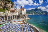 Bella Italia series - Atrani village, Amalfi coast — Stock Photo