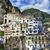 Amalfi  - pictorial coastal town of Italy — Stock Photo