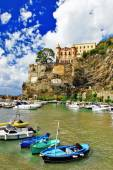 Pictorial Amalfi coast - Maiori village, Italy — Stock Photo