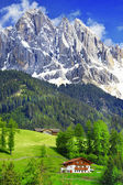 Breathtaking nature of Dolomites. Italian Alps — Stock Photo