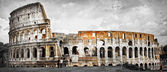 Great Rome, panorama of Colosseum — Stock Photo