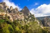 Castelmezzano -mountain village. Italy,  Basilicata — Stock Photo
