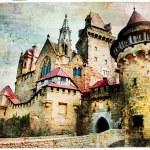 Fairy castle Kreuzenstein - artistc picture — Stock Photo #59038181