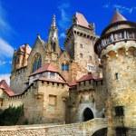 Beautiful medieval castle Kreuzenstein, Austria — Stock Photo #59038189