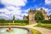 Märchen-Schlösser von Frankreich-¢ teau Jumilhac-le-grand — Stockfoto