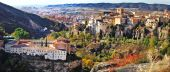 Panorama of Cuenca, central Spain — Stock Photo