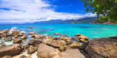 Incredible nature of Seychelles islands — Stok fotoğraf