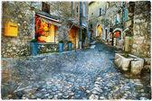 Atmospheric old villages - Paul De Vence, France — Stock Photo