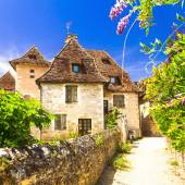 Carennac - one of the most beautiful villages in France (Lot dep — Stock Photo