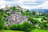 Turenne - one of the most beautiful villages in France (Limousin — Stock Photo