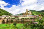 Estaing- one of the most beautiful villages of France  — Stock Photo