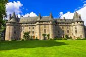 Castles of France -chateau of Madame de Pompadour — Stock Photo