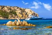 Luxury vacation on Sardegna island. Italy — Stock Photo