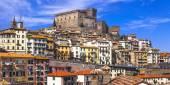 Soriano nel cimino - authentic medieval town in Lazio, Italy — Stock Photo