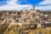 Matera - ancient cave town in Basilicata, Italy — Stock Photo