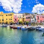 Colors of mediterranean series - Procida island, Italy — Stock Photo #69350469
