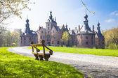 Fairytale castles of Belgium series- Ooidonk, East Flanders — Stock Photo