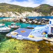 Traditional fishing village Mandrakia, Milos — Stock Photo #74142857