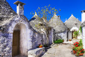 Alberobello, Italy, Puglia — Stock Photo