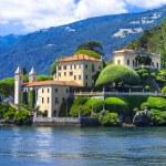 Постер, плакат: Romantic Lago di Como Villa del Balbinello Italy