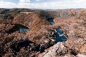 ヴルタヴァ川の蛇行 — ストック写真