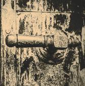 Beautiful old door handle — ストック写真