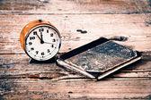 Old alarm-clock — Stock Photo
