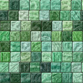 Beautiful green abstract seamless texture of plastic glass tiles  — Stock Photo