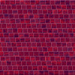 Texture of red wall from bricks — Stock Photo #58763459