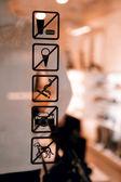 Restriction marks — Stock Photo