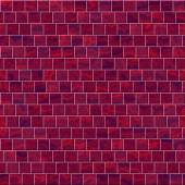 Texture of red wall from bricks — Stock Photo