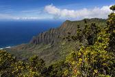 Na Pali coast - Kauai, Hawaii — Stock Photo
