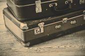 Starý kufr — Stock fotografie