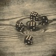 Dice on the table — Stock Photo #73063611