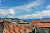Old mountain village — Stock Photo