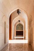 Sultan Qaboos mosque architecture, Muscat, Oman — Stock Photo