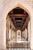 Sultan Qaboos Mosque, Muscat, Oman — Stock Photo