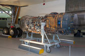 Engine for British Aircraft Corporation, Concorde, G-AXDN, at Duxford, Imperial war museum, England, UK — Stock Photo