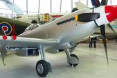 Supermarine Spitfire Mk 24 VN485, at Duxford, Imperial war museum, England, UK — Stockfoto