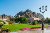 Palace of Sultan Qaboos bin Said in Muscat , Oman — Stock Photo