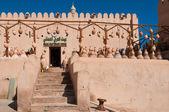 Kil çömlek ustası Dükkanı Nizwa Kalesi, Umman — Stok fotoğraf