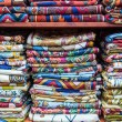 Display of colorful fabrics, Muscat, Oman — Stock Photo #65281191