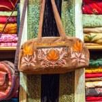 Fabrics and handicrafts, Muscat, Oman — Stock Photo #65281965