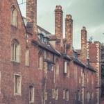 Street in the precincts of the University of Cambridge — Stock Photo #69264123