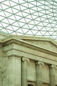 The British Museum in London, England, UK — Stock Photo