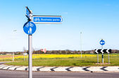 Direction for Business Parks in Bury St Edmunds, England — Stock Photo