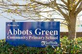 Abbots Green Primary School, Bury St Edmunds, England — Stock Photo