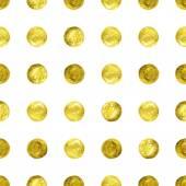 Gold Confetti glitter background. — 图库矢量图片