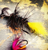 Fishing hooks — Stock Photo