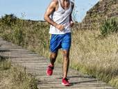 Runner man — Stock Photo